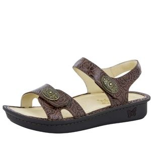Alegria Vienna Cowgirl Tobacco Sandal